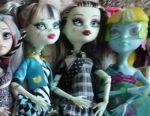 Monster High dolls. Matell.