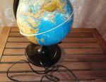 Backlit globe