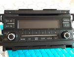 Car radio on Mazda-6