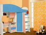 Дитяче ліжко-горище