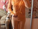 Sports suit velor new