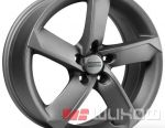 Wheels of Fondmetal 7900 7.5x17 PCD 5x114.3 ET 42 DIA 67.20 Black Polished