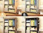 🔥 Folding Frame Cabinet 170 * 105 * 45 cm New