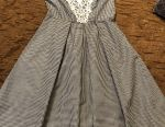 New dress for Russia, size 44, Vichy cage