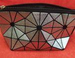 Silver cosmetic bag Prisma