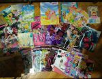 Posters, magazines monster high, moxie, winx, fairies, brother