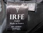 Irfe, original, France, leather dress, lace