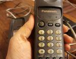 Home without wired radiotelephone panasonik
