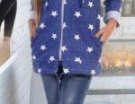 Sweatshirt, cardigan for a girl