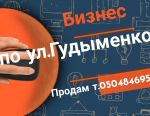 Business on Baburka Gudymenko St. 17.5 m2 1kom.kv.