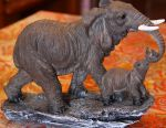 Статуетка Слон зі слоненям