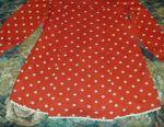 Children's woolen dress (4-6goda)