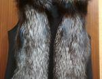 Fur vest 48-50r