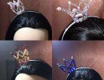 Νέο στέλεχος στεφάνης Crown + σκουλαρίκια