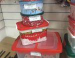 Christmas plastic boxes