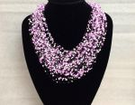 Lilac Air Necklace