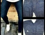 Jeans husband., P. 52 +. New ones. Narrowed downwards