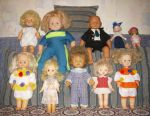 Doll, bobblehead of the USSR, vintage