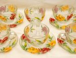 A very beautiful set of cups and saucers