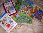 Renkli çocuk kitapları