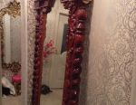 Oglindă mare sculptată