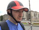 Helmet cap for moto scooter rollers
