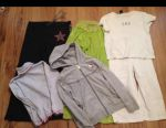Jacket Park Sweden, kivat leggings, clothing package