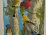 Картина по номерам райские птички