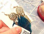 Νέα κοσμήματα σκουλαρίκια