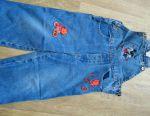 Jeans salopete