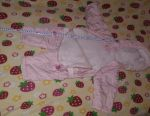 Overalls pink spring 68 cm height