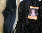 Curls for hairstyles and extensions