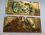 Commemorative souvenir bonknot 100 rubles SOCHI.