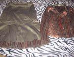 Female suit (skirt).