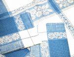 New linen tablecloth