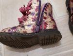 Чобітки демісезонні р 22+ подарунок шкарпетки
