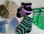 Sosete și mănuși cu tricot