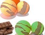 Baie de bombe serie de ciocolată