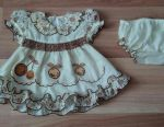 Dress with panties for baby.