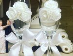 Pahare de vin pahare de vin perle de nuntă
