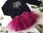 New skirt 92-104 + sweater 104