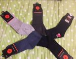 Socks with a elastic band for men