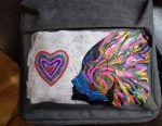 Роспись рюкзаков, одежды