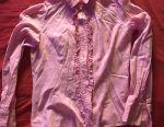 Блузка рожева