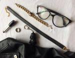 Handmade genuine leather choker