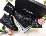 Ботинки Chanel кожа новые