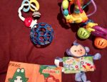 Toys up to 1.5 years old package
