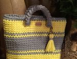 Knitting yarn bags