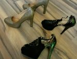 Shoes with a heel size 40-41