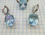 Earrings, Silver Ring